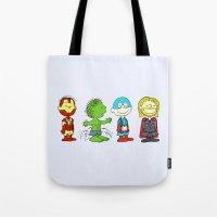 Little Avengers Tote Bag