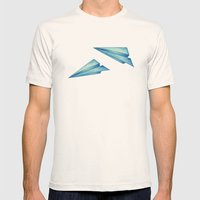 High Flyer Mens Fitted Tee Natural SMALL