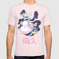 moe giratina Mens Fitted Tee Light Pink SMALL