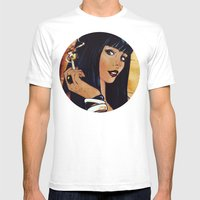 Playing With Fire Mens Fitted Tee White SMALL