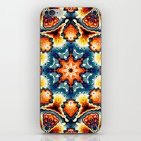 Colorful Concentric Motif iPhone & iPod Skin