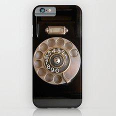 OLD BLACK PHONE Slim Case iPhone 6s