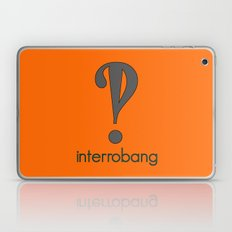 Interrobang, Serif Laptop & iPad Skin