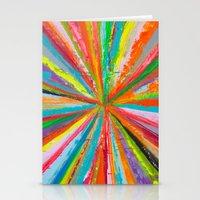 Exploding Rainbow Stationery Cards