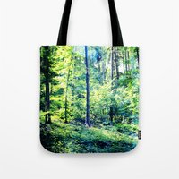 one summer day in the forest Tote Bag