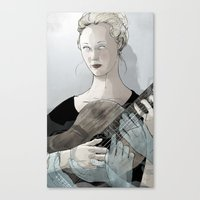 Laura Marling Canvas Print