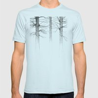 Three Kings Mens Fitted Tee Light Blue SMALL