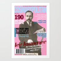 COSMARXPOLITAN, Issue 11 Art Print