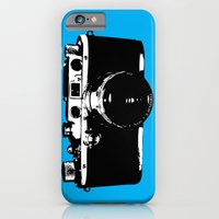 Leica In Blue iPhone 6 Slim Case