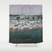 Ocean Crash Shower Curtain