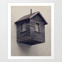 Room for Rent Art Print