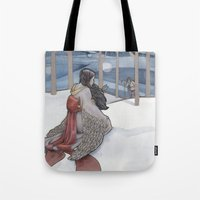 The Crane Wife Tote Bag