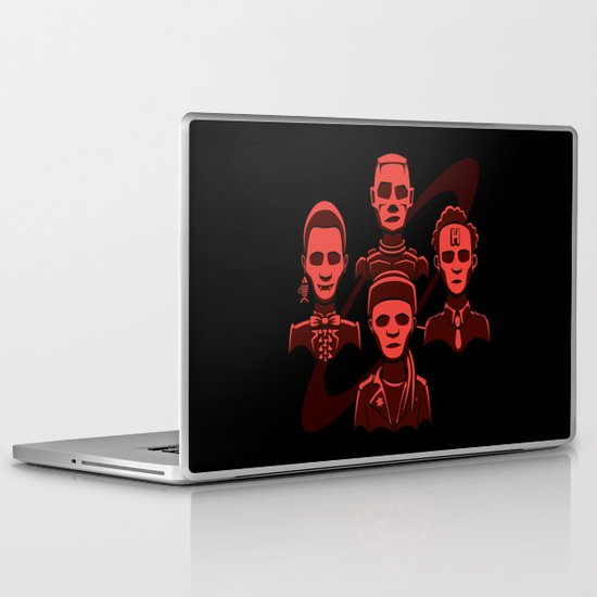 Petit Rouge Rhapsody Laptop & iPad Skin