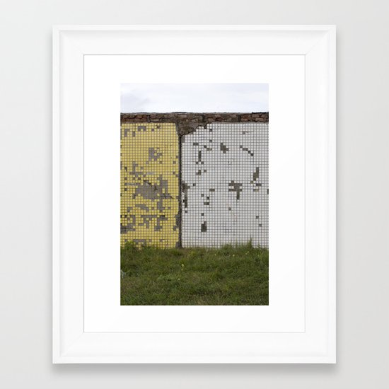 tetris Framed Art Print