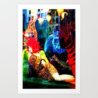 Ladies 3 Art Print