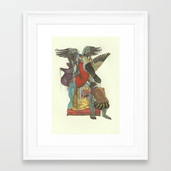 Miasma Theory  Framed Art Print