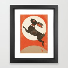 The Witch Hare (Fairy and Folk Tales of the Irish Peasantry) Framed Art Print