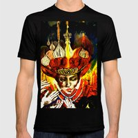 Russian Royalty Mens Fitted Tee Black SMALL