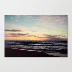 Lake Erie Sunset II Canvas Print