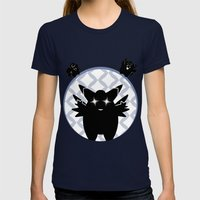 CLEFAIRY LINE Womens Fitted Tee Navy SMALL