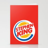 Stephen King Stationery Cards