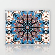 Black And Blue Mandala Laptop & iPad Skin