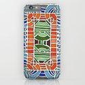 Geometric Drawing Meditation iPhone & iPod Case