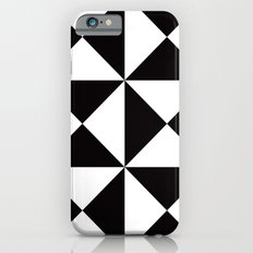 B/W triangle X4 pattern iPhone 6 Slim Case