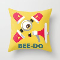 Bee-Do Bee-Do Throw Pillow