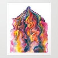 System #6, Visit #1: Vum… Art Print