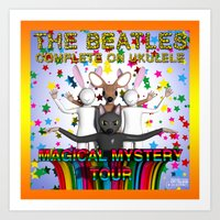 Magical Mystery Tour Art Print