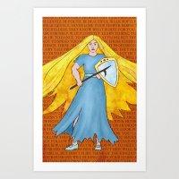 Ultra-Viola Print - Viola Art Print
