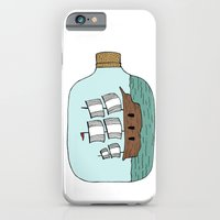 Ship in a Bottle iPhone 6 Slim Case