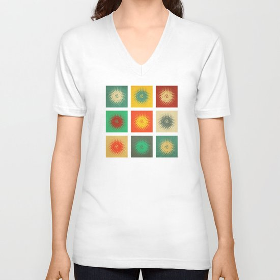 Textures/Abstract 90 V-neck T-shirt