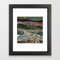 moonscape (no rest for the weary) Framed Art Print