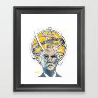 John Glenn Framed Art Print