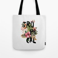 Tropical I Tote Bag