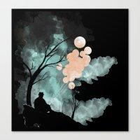 Hush (Alt Colors) Canvas Print