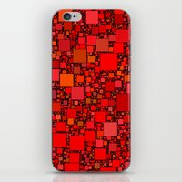 Post It Red iPhone & iPod Skin