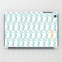 One Stand Out Seahorse iPad Case