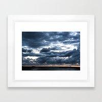 RIVAGE 01 Framed Art Print