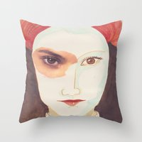 FRÁGIL Throw Pillow