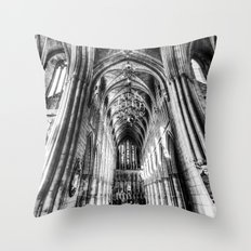 Southwark  Cathedral Lon… Throw Pillow
