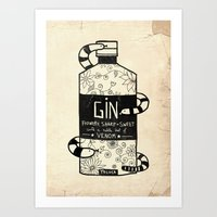 The Gin No.2 Art Print