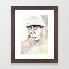 Johnny D Framed Art Print