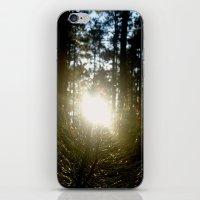 iPhone & iPod Skin featuring Wake Up by ghostofarcadia