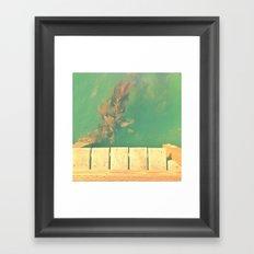 The California Summer Series // Seaweed Framed Art Print