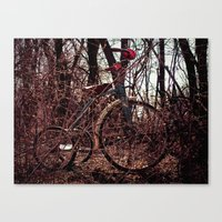 Tricycle story 3 Canvas Print
