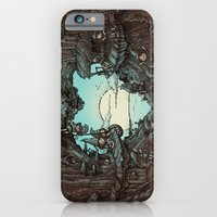 iPhone & iPod Case featuring There's a gap next door by Carlos Rocafort