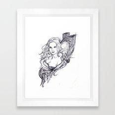 Niki Framed Art Print